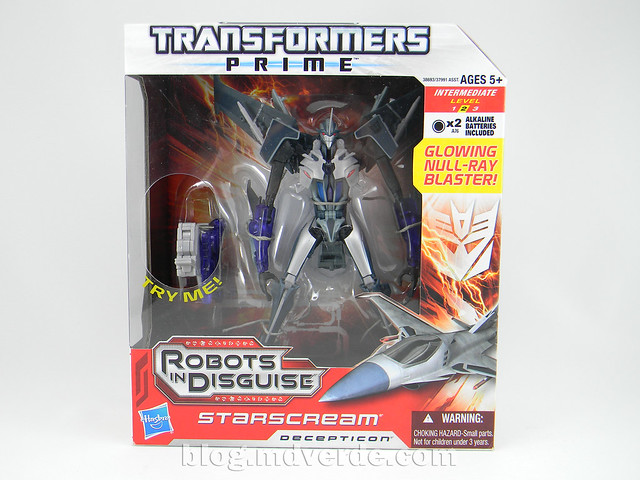 Transformers Starscream Voyager - Prime RID - modo