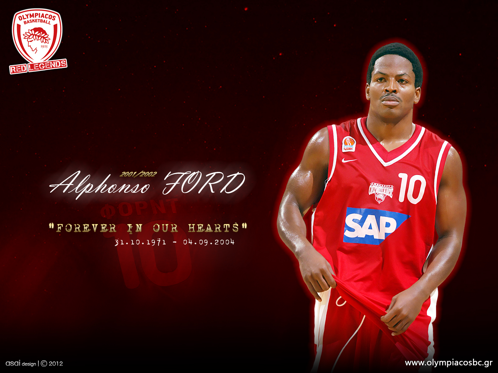 The Red Legends wallpapers Olympiacos BC