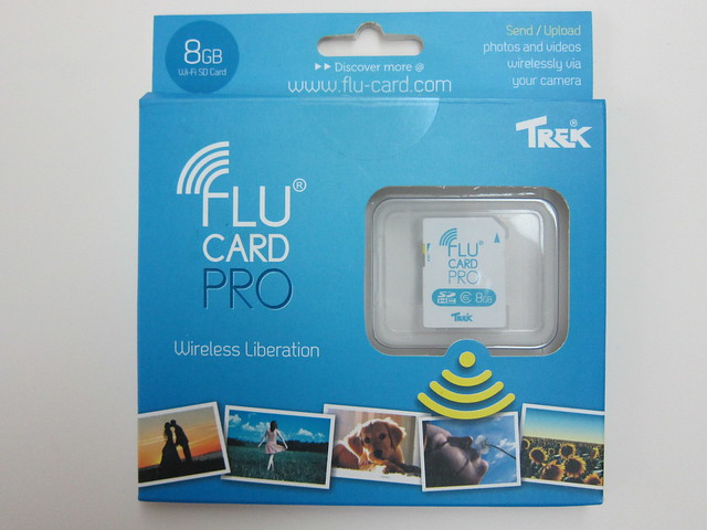 Flucard Pro - Packaging Front