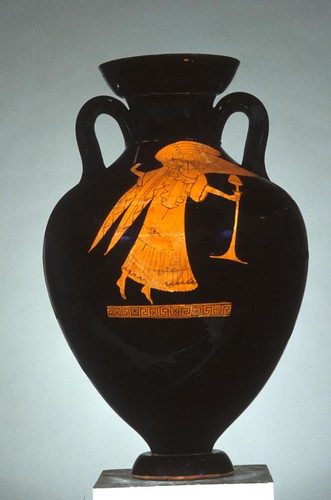 Amphora from 490 BCE, Possible Olympic Victory Prize
