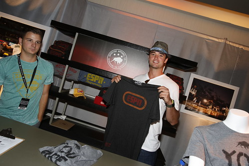 Brock Osweiler with ESPN Shirt By Sportiqe