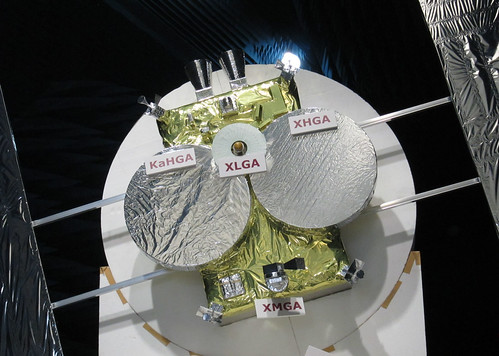 Hayabusa 2: 1/2 model for electric test