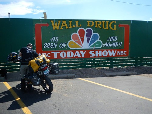 Wall Drugs, as seen on NBC