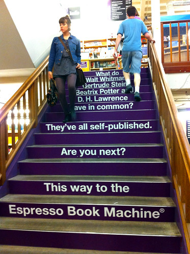 Powell's City of Books - A Staircase