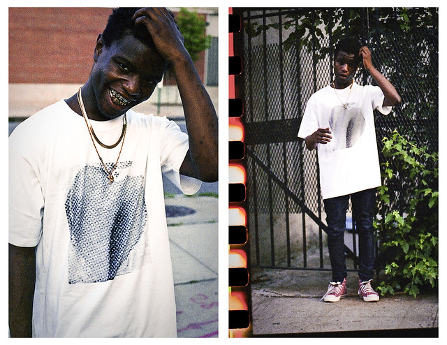 Mr. B x Somdusca - Half Tone Attraction tees (All pics by Mr. B)