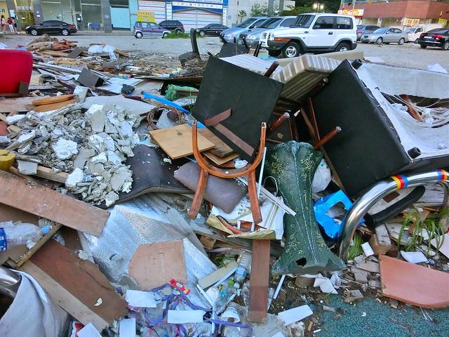 Illegal dumping of furniture - Trash in Yongin