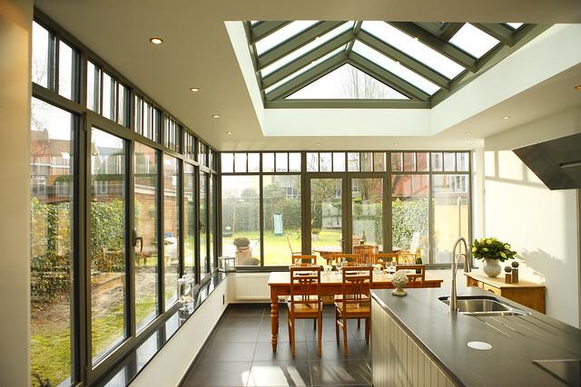 Veranda leefruimte keuken boom flickr photo sharing - Keuken verandas ...