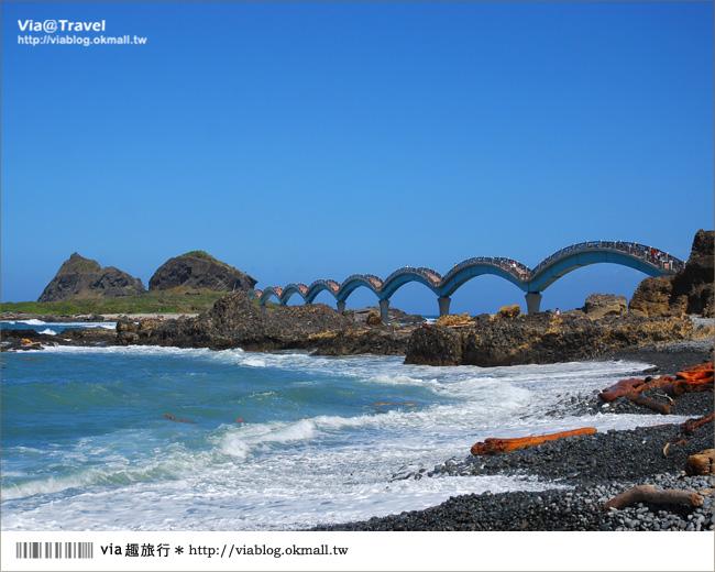 【台東必去景點】台東三仙台~我心目中台灣最美的一座橋啊!10