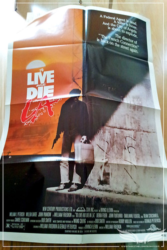 The Establishing Shot: To Live and Die in L.A. US One sheet movie Poster by Craig Grobler
