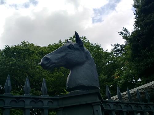 Baji-koen park gate HDR