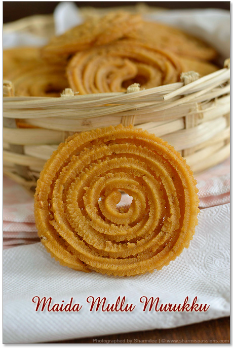 Mullu Murukku with maida