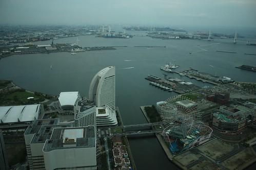 Yokohama Sights from Landmark Tower
