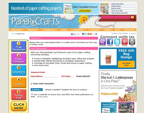 7742969008 9e9f63d52c Paper Crafts digital issues   MORE tips and tricks