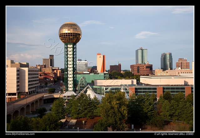 Sunsphere in downtown knoxville tennessee flickr for Small towns in tennessee near knoxville