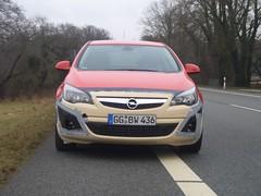 Opel Astra Golden Vehicle
