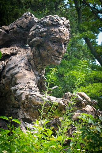 Johnny Appleseed at Chicago Botanical Guardens