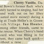 12/18/75 Rolling Stone Magazine (Cherry Vanilla)
