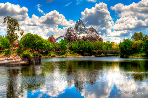 disneyworld rollercoaster wdw hdr highdynamicrange animalkingdom disneysanimalkingdom expeditioneverest themeparks photomatix 3exp floridathemeparks d5100 nikond5100 disneyworldhdr expeditioneveresthdr toddfburgess