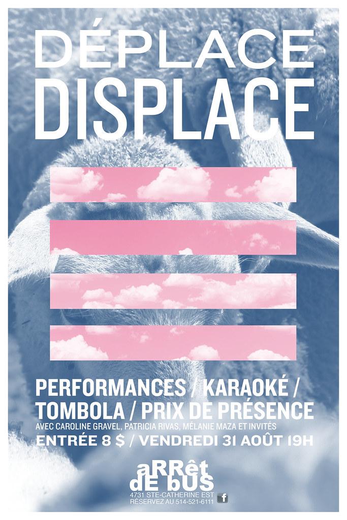 Déplace displace