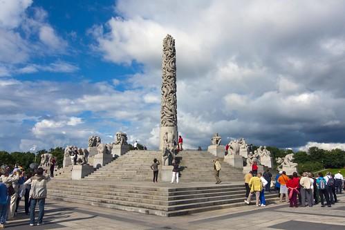 413 Parque Vigeland 20 julio - Oslo
