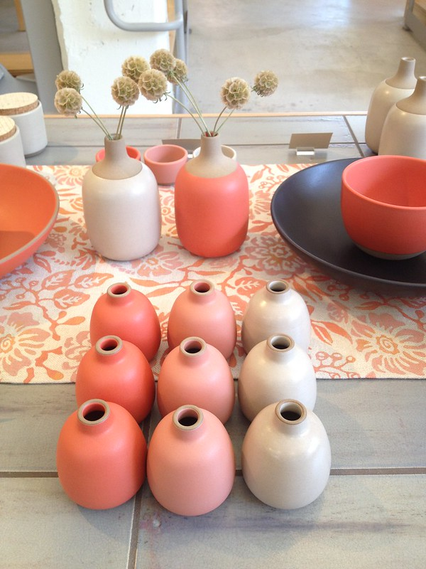 Latest colours at Heath Ceramics SF