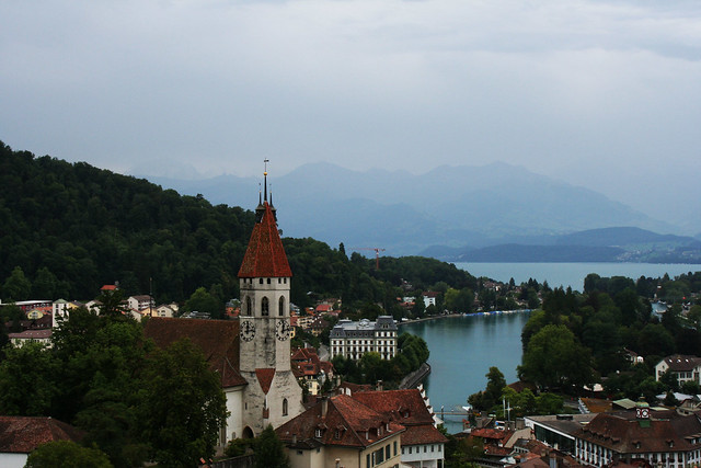 Thun from above