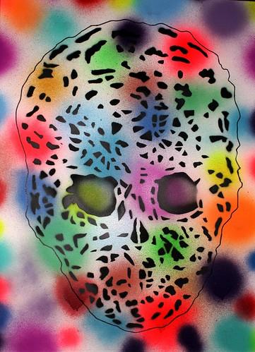 multicolor sKuLL // soporte rigido by martin diez