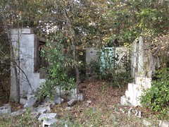 Flint River Trail Ruins - Busted Block House