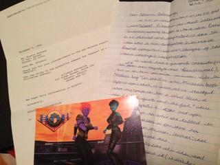Inspiration- Letter to creators of Reboot (High School)