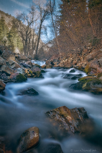 life travel blue trees red usa mountain storm color art fall nature water yellow rock canon river landscape flow utah photo rocks stream autum canyon saltlakecity 7d slc hdr edamak edamakmx edamakedamakmxphotography