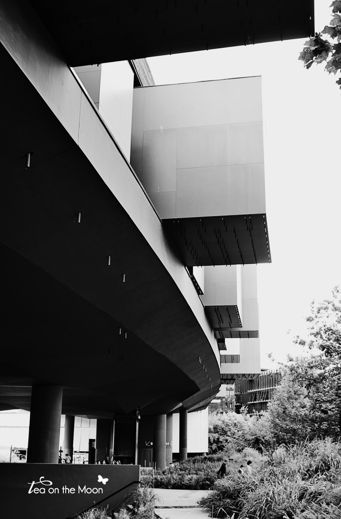 Quai branly-Paris bw