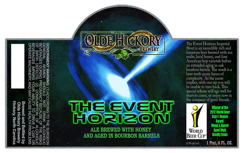 the event horizon label 2012