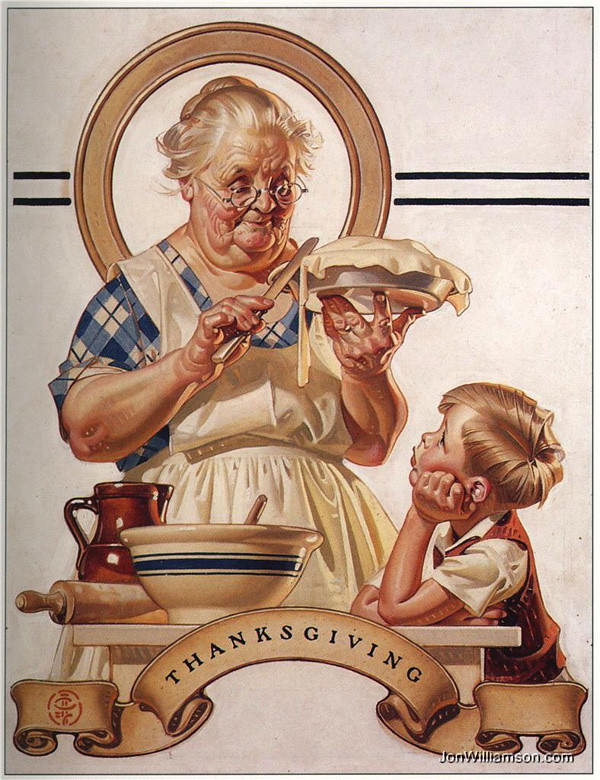 leyendecker thanksgiving 7