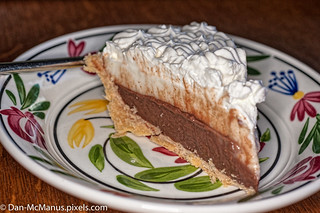 Happy Pi day! Chocolate Haupia Cream Pie from Ted's Bakery