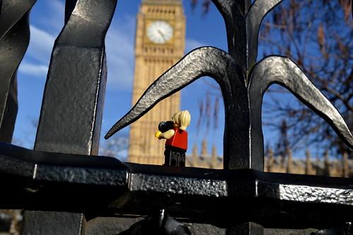 LEGO Lizzi at Big Ben