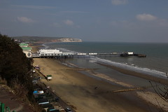 Sandown Pier & Culver Cliff