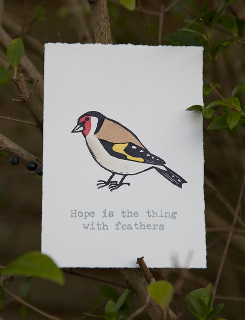 Goldfinch Print