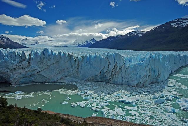South American Landscapes 5: Perito Morino Glacier