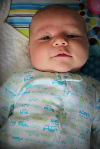 20140413. Willem, 7 weeks.