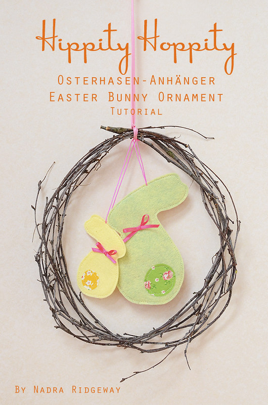 Osterhasen Anhänger / Easter Bunny Ornament Tutorial