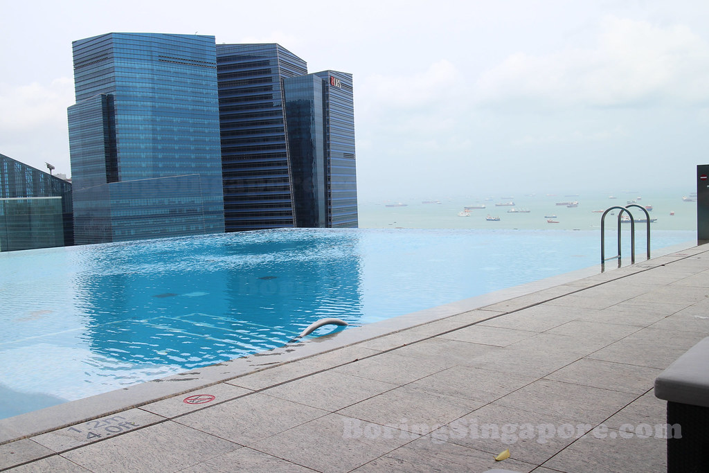 Infinity Pool at Westin Singapore