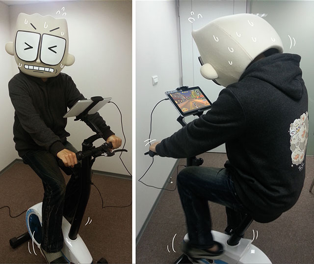 moLoSport互動式娛樂健身車人2娛樂運動鮪魚肚熱量平板手機遊戲踩踩腳踏車拉拉大冒險星際踩踩腳踏車射擊App健身車LetsCafe遊戲People2