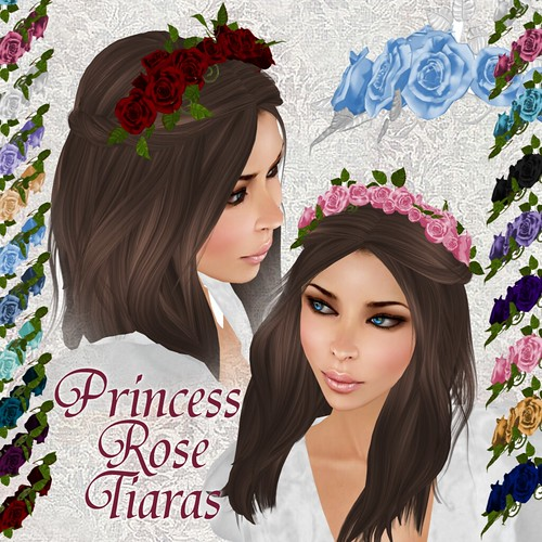 Princess Rose Tiaras