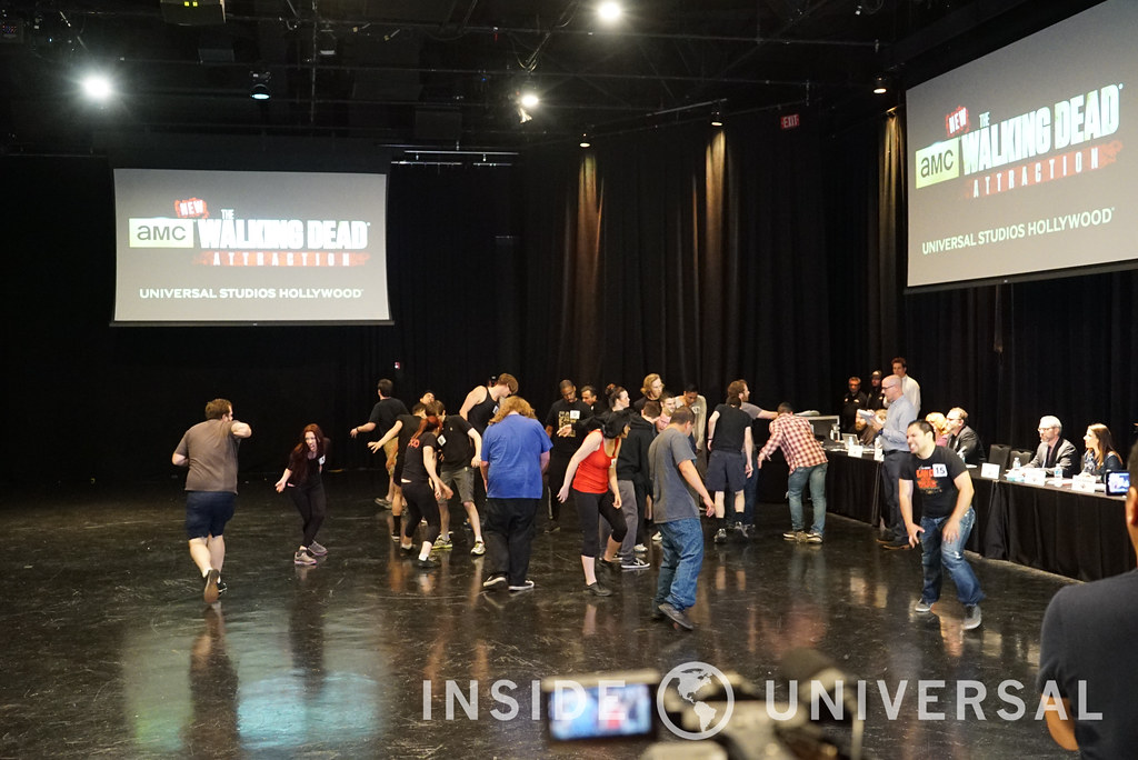 Inside the audition process for The Walking Dead Attraction