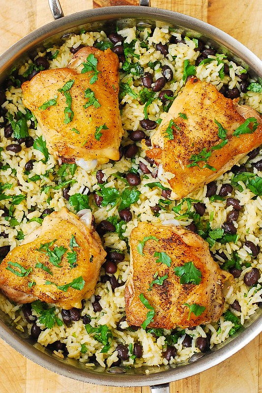 how to cook chicken thighs healthy