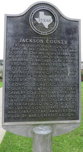 texas tx edna easttexas jacksoncounty texashistoricalmarkers courthouseextras