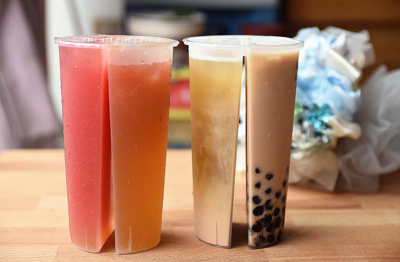 台中手搖飲料推薦02雙享杯