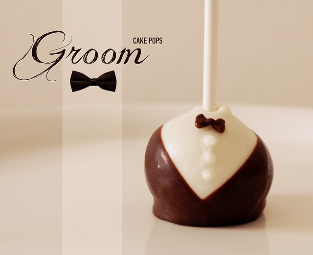 Groom Cake Pops - Wedding