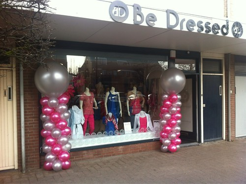 Ballonpilaar Breed Rond Be Dressed Rockanje