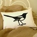 Mr Magpie Cushion